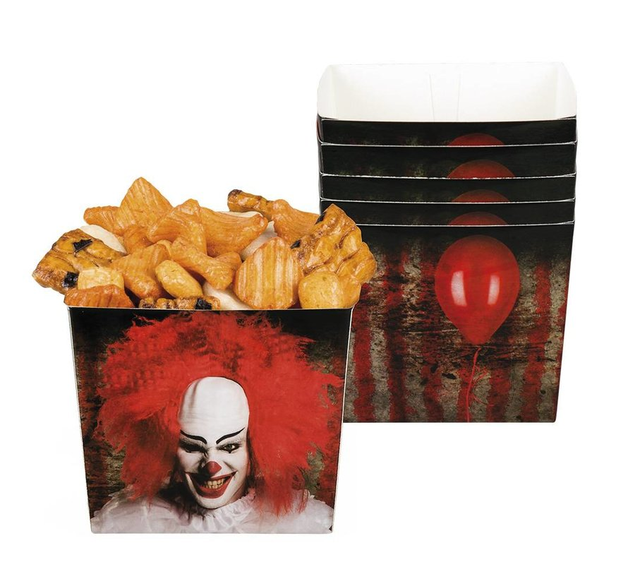 Halloween Bakjes Horror clown