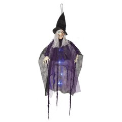 Decoratie Blazing witch