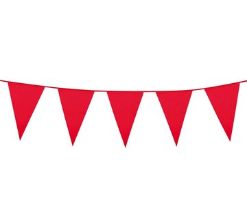 Mini vlaggenlijn rood