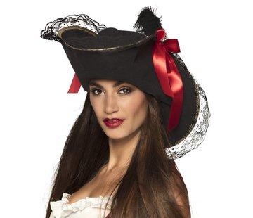 Hoed Piraat Roxanne