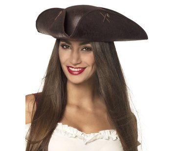 Dames kapitein hoed