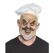 Masker Evil chef met koksmuts
