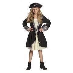Meisjes piraten kostuum