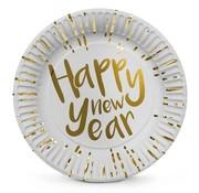 Bordjes 'Happy New Year'