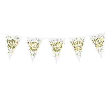 Folie vlaggenlijn New Year