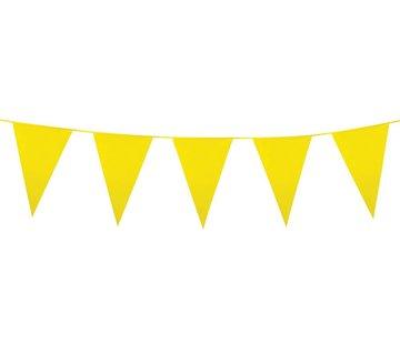Grote vlaggenlijn geel