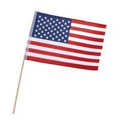 Amerikaanse vlaggetjes