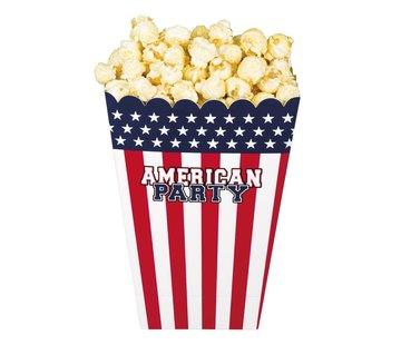 Popcorn bakjes USA