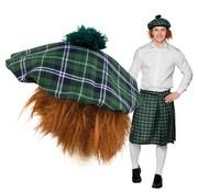 Schotse baret met rossig haar