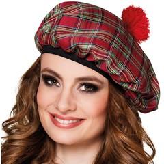 Dames schotse baret