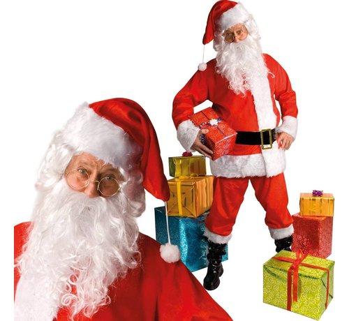 Kerstman pluche de luxe