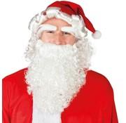 Kerstman Baard set 4 delige