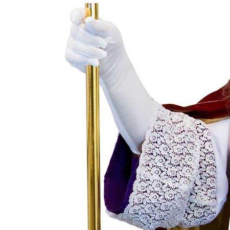 Sinterklaas handschoenen wit