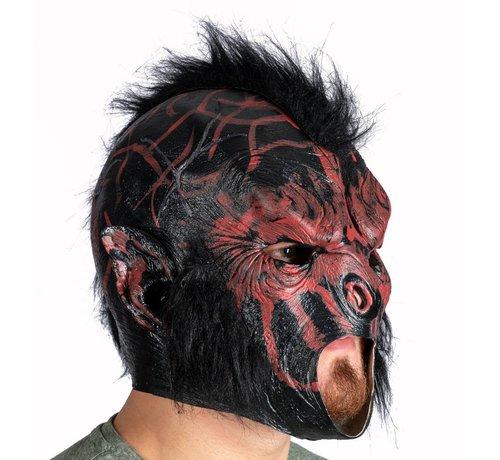 Latex Horror masker aap