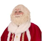 Professioneel baardstel kerstman