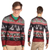 Heren Fop shirt foute kerstkleding