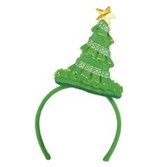 Mini Kerstmuts haarclip