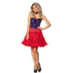 Langer rode petticoat