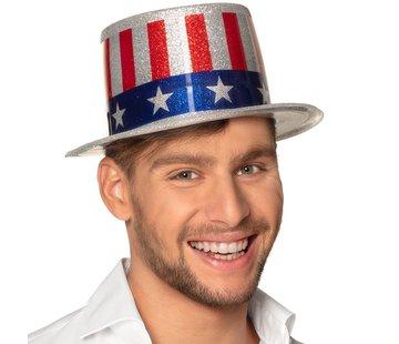 Glitter hoed USA