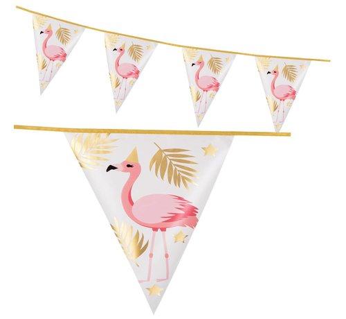 Folie  Flamingo vlaggenlijn