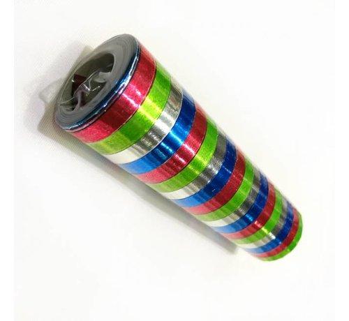 4 kleurige  Metallic Serpentine
