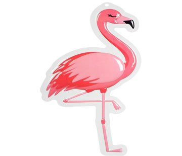 Wanddecoratie Flamingo