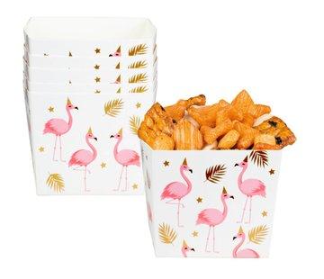 Flamingo snoep Bakjes
