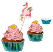Flamingo Cupcakevormpjes
