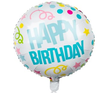 Happy Birthday' Folieballon