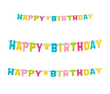 Happy Birthday letterslinger