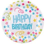 Happy Birthday bordjes
