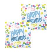 Happy Birthday servetten