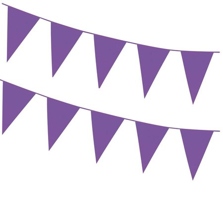 Grote vlaggenlijn paars 46 x30 cm