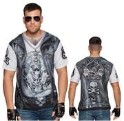 Fotorealistisch biker shirt