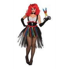 Clown kostuum Twisted clowness