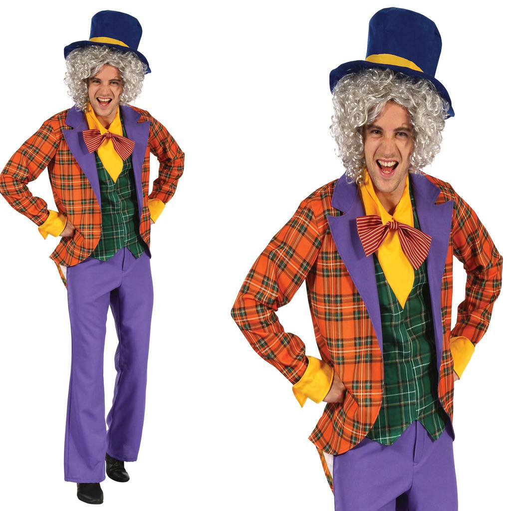 Heren Mad Hatter Outfit Partycornernl