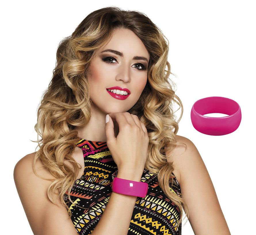 Armband Retro roze