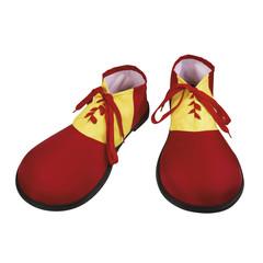 Gekleurde clown schoenen