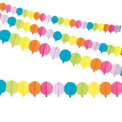 Papieren ballon slinger