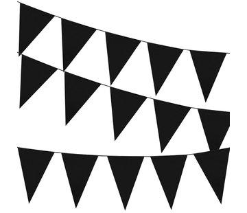 Vlaggenlijn zwart 46 x30 cm
