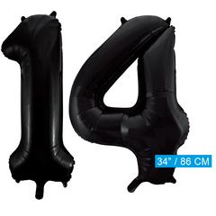 Zwarte cijfer 14