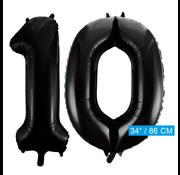Zwarte cijfer 10