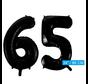 Folie zwarte cijfers 65