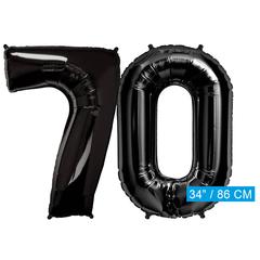 zwarte cijfers 70