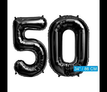zwarte cijfers 50