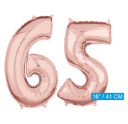 Rosé goud cijfer 65