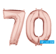 Rosé goud cijfer 70