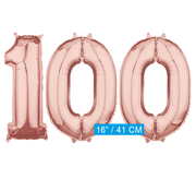 Rosé goud cijfer 100