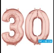 onjuiste code Helium cijfer ballonnen 30