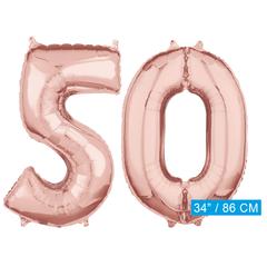 Helium cijfer ballonnen 50